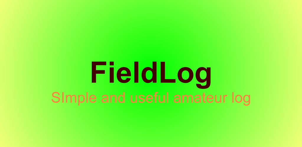 FieldLog feature graphic